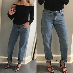 Old Levi's 550 student jeans size 0